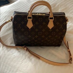 Authentic Louis Vuitton Speedy B 30 - almost new